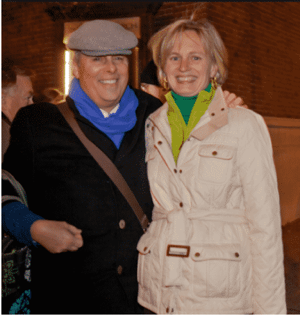 Roger Webster, Barbara McLaughlin at the Park Avenue Tree Lighting