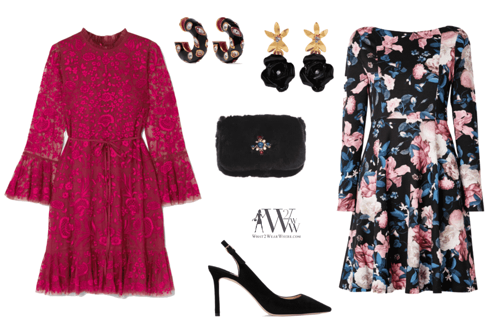 How to dress for a holiday party.  Karen Klopp gives great advice.