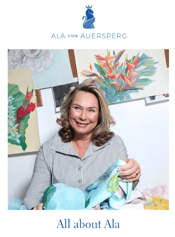 Ala Von Auersperg sale on What2WearWhere.  Karen Klopp, Hilary Dick