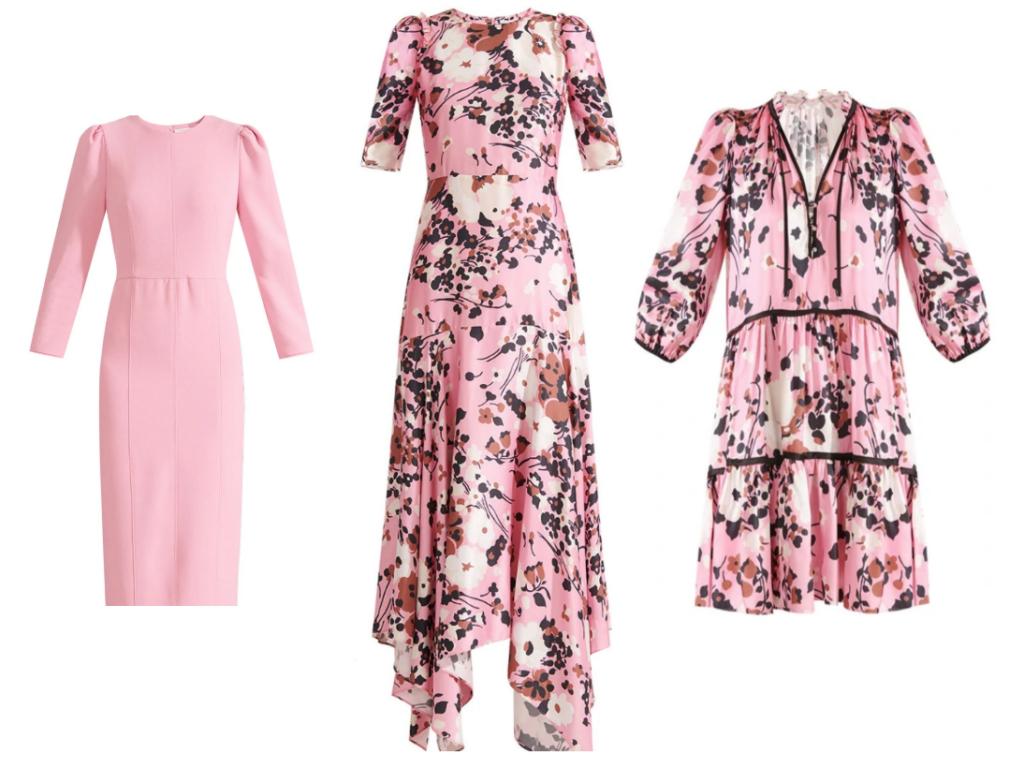 What to wear Aerin Lauder's Breast Cancer luncheon Palm Beach Hot Pink at Breakers, Veronica Beard Dresses Karen Klopp picks best pink dresses