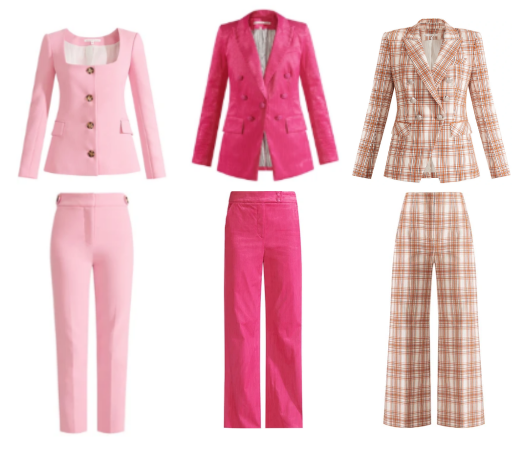 What to wear Aerin Lauder's Breast Cancer luncheon Palm Beach Hot Pink at Breakers, Veronica Beard Pant Suits  Karen Klopp picks best pink combinations.