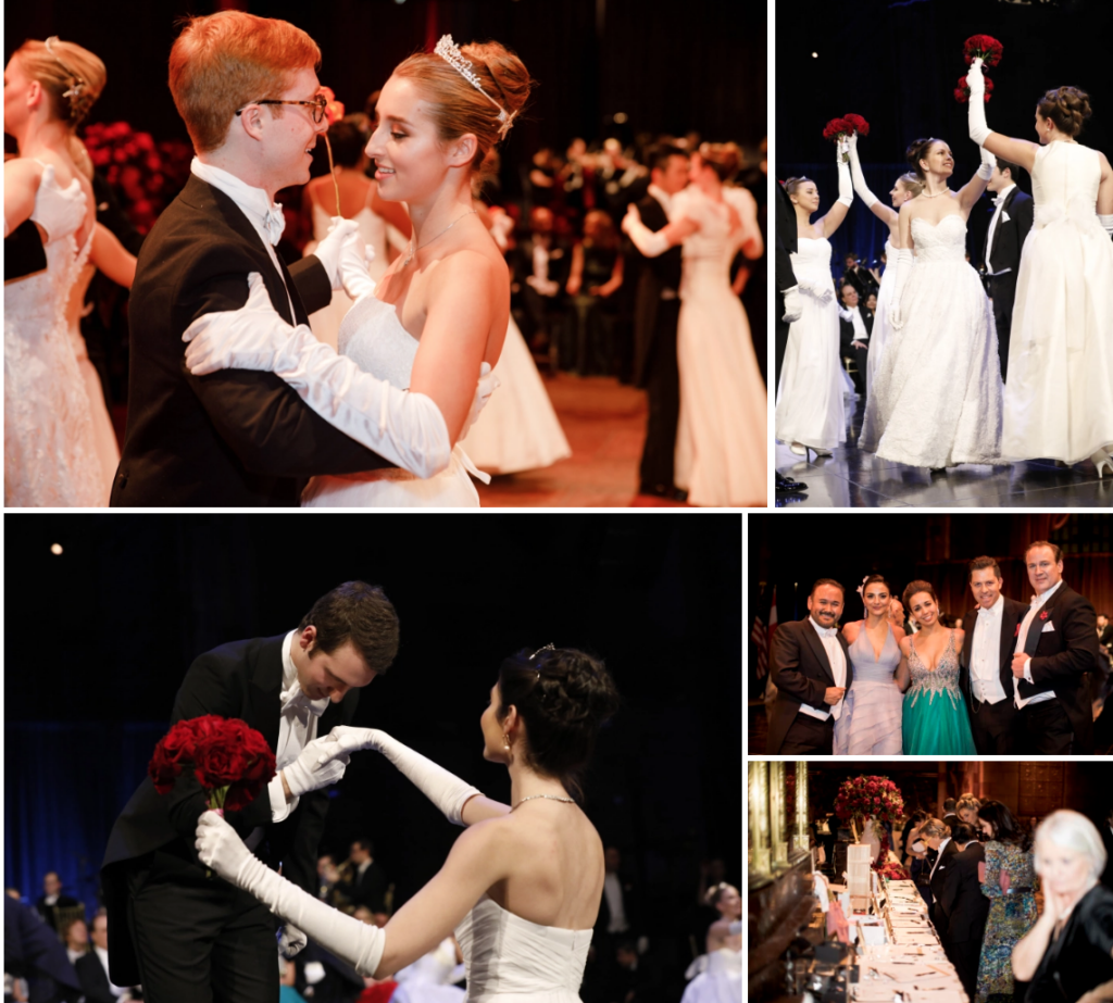 Photos of the Viennese Opera Ball New York City, Debutant Ball.
