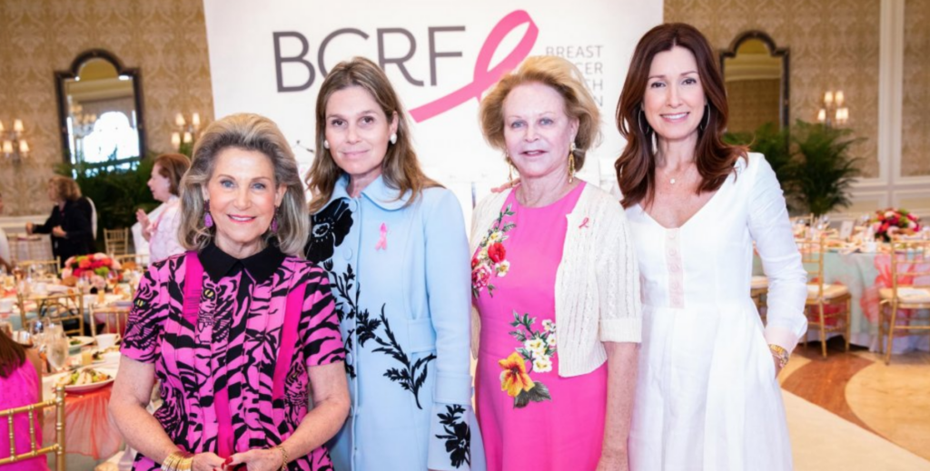 Aerin Lauder, Ronnie Heyman at Breast Cancer Research Foundation Luncheon, Palm Beach