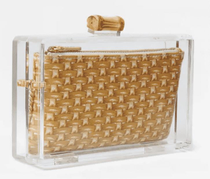 J. McLaughlin handbag. What to wear Windsor Charity Polo Cup