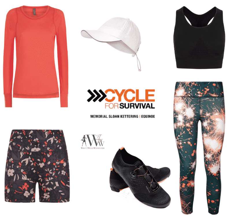 What to wear to Society of Memorial Sloan Kettering, Cycle for Survival