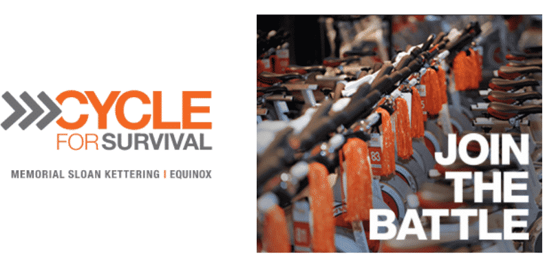 Join the Battle Cycle for Survival, memorial sloan kettering cancer center