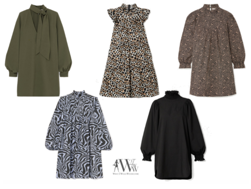 Hilary Dick choose full A line dresses for spring style