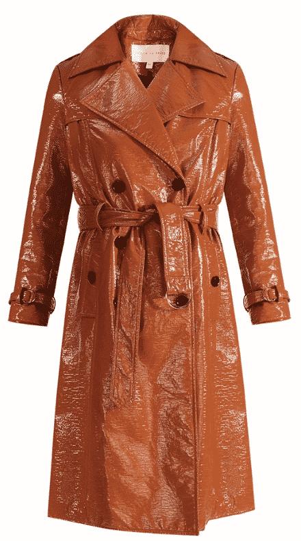 Karen Klopp shops for Spring Trench Coats from Veronica Beard