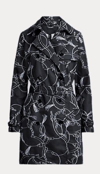 Karen Klopp shops for Spring Trench Coats from ralph Lauren