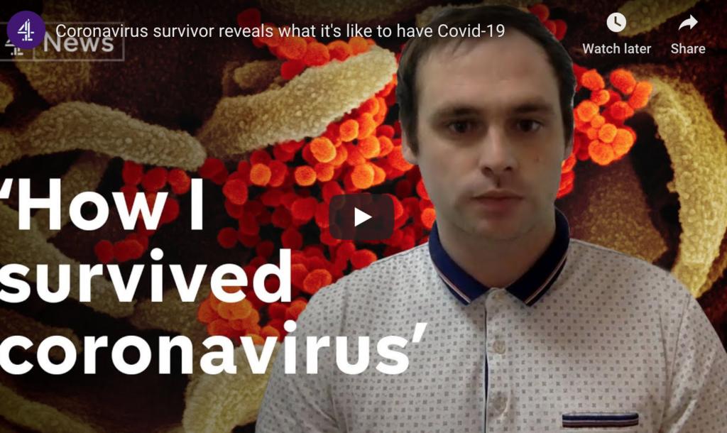 DIGG how I survived coronavirus
