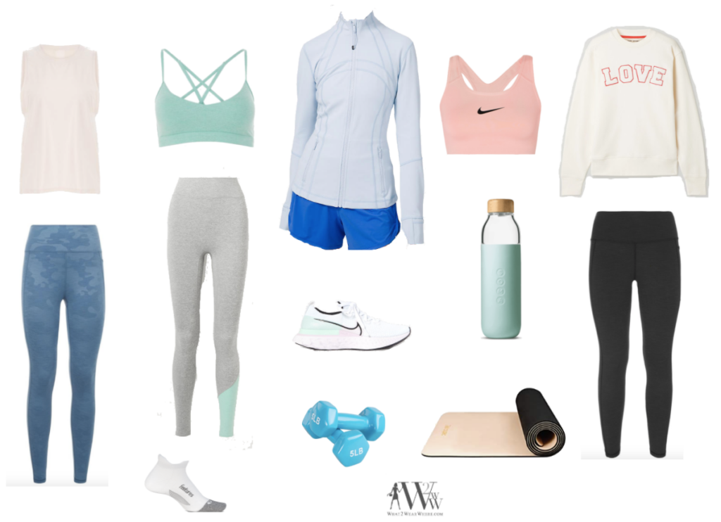 What to wear where, Hilary Dick during this stressful and anxious time,  top choices  courses of  the best exercise classes