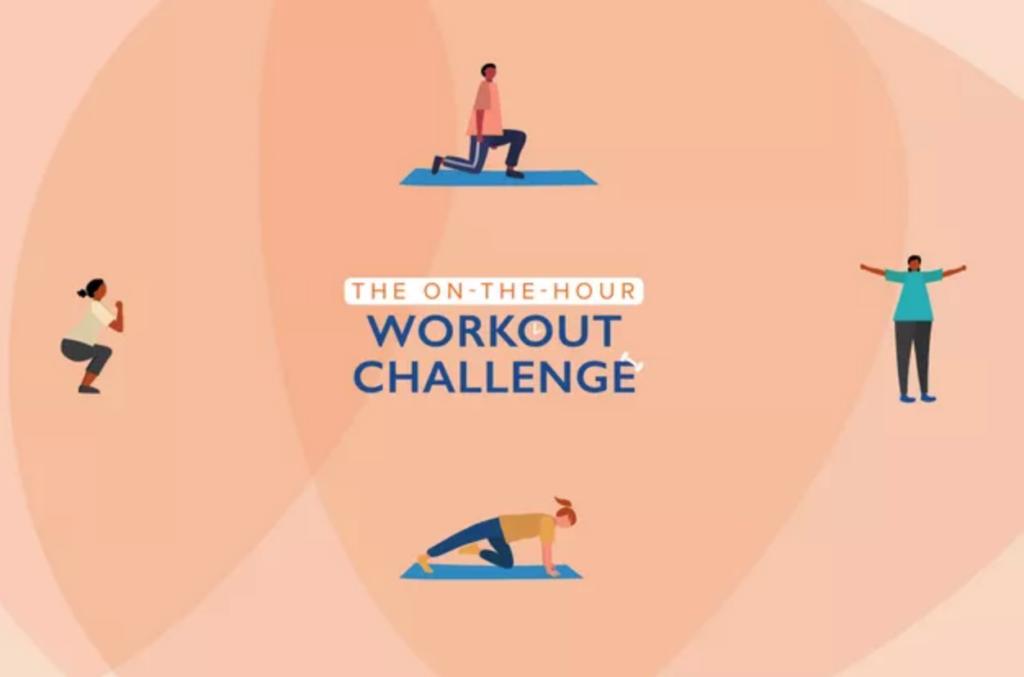 Karen Klopp advice on fitness working from home.