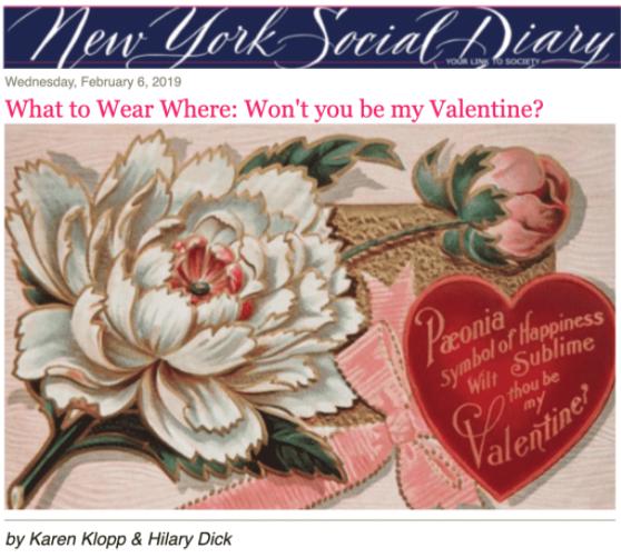 NYSD  Won't you be my Valentine?