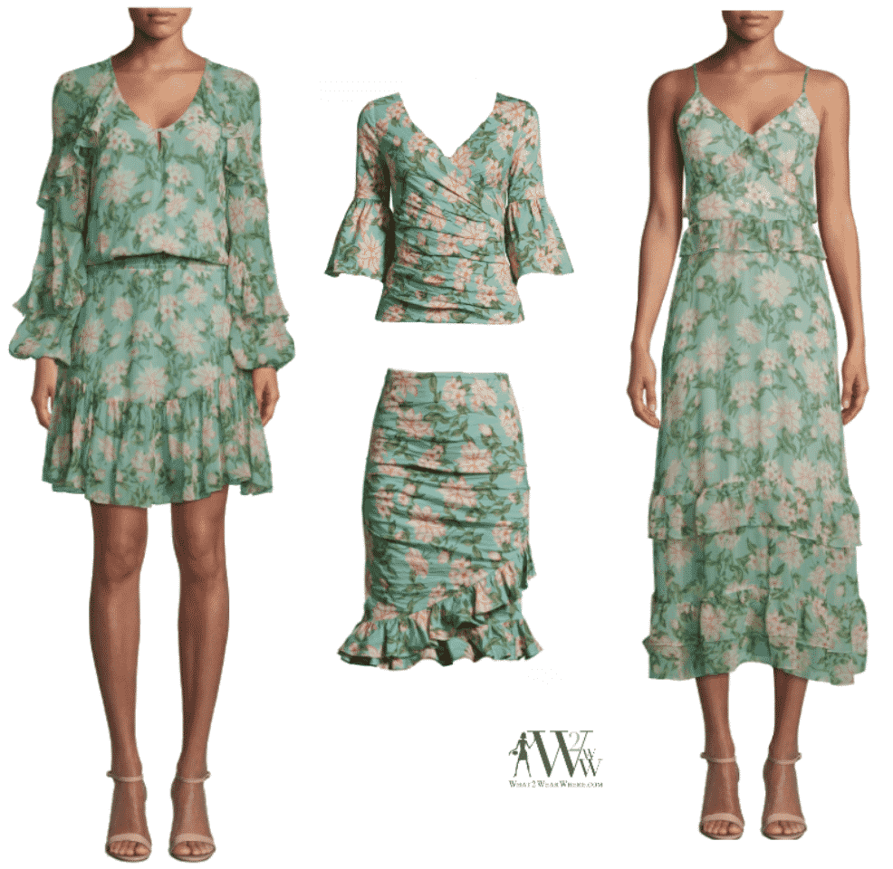 Nicole Miller's Spring Collection.  Karen Klopp selects.
