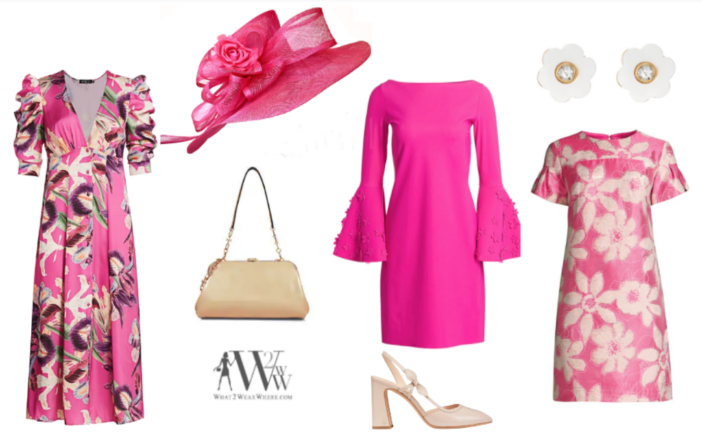 What to wear to the Kentucky Derby, Kentucky Oaks, Karen Klopp fashion Advice.  #KYDerbyAtHome