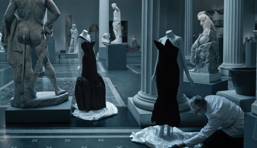 VOGUE, preview of Costume institute preview, About Time.