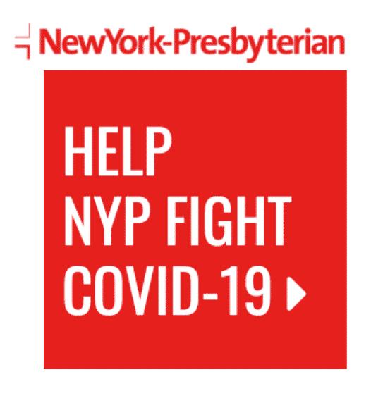 Donate to New York Presbyterian Covid 19 Fund