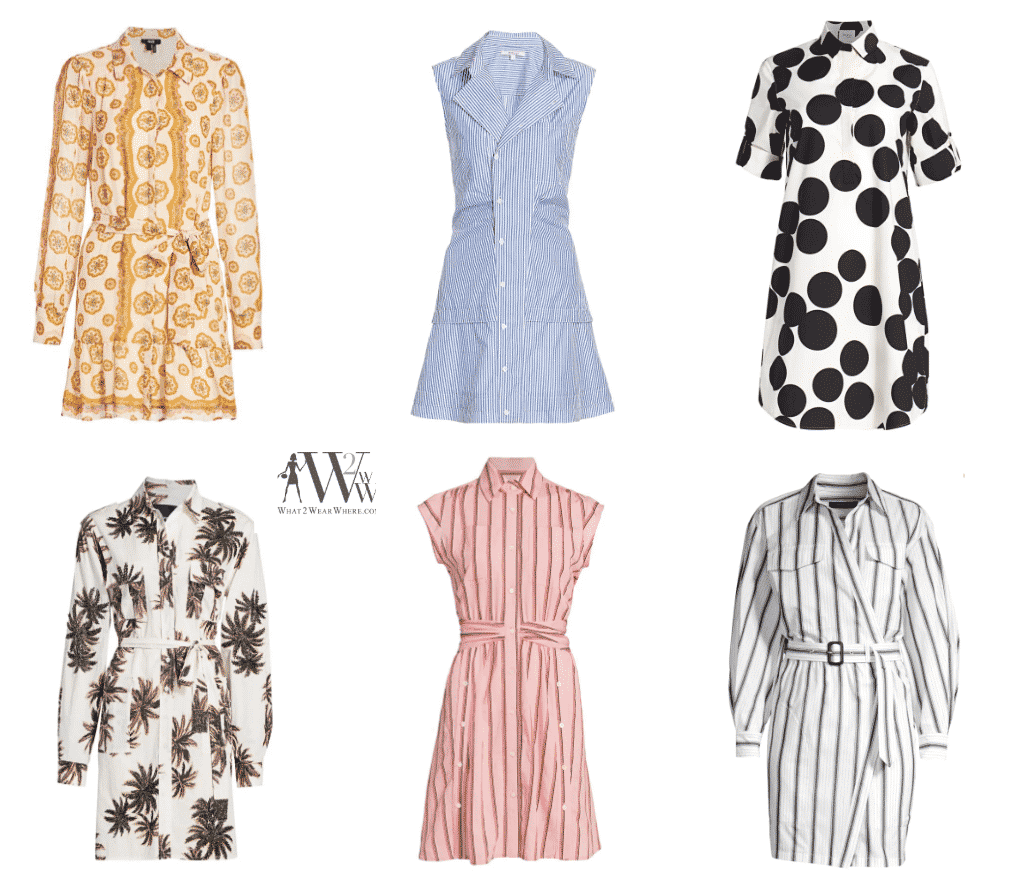 Summer Shirt Dresses