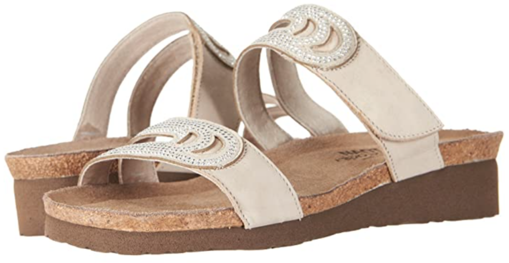 Karen Klopp choose the best cork shoes at Zappos.