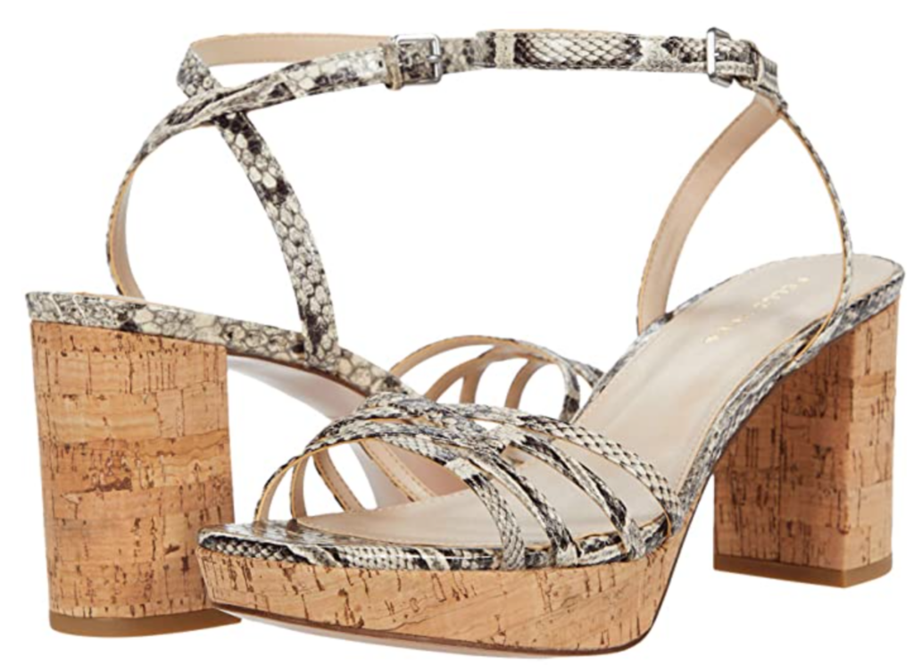 Karen Klopp choose the best cork shoes at Zappos.
