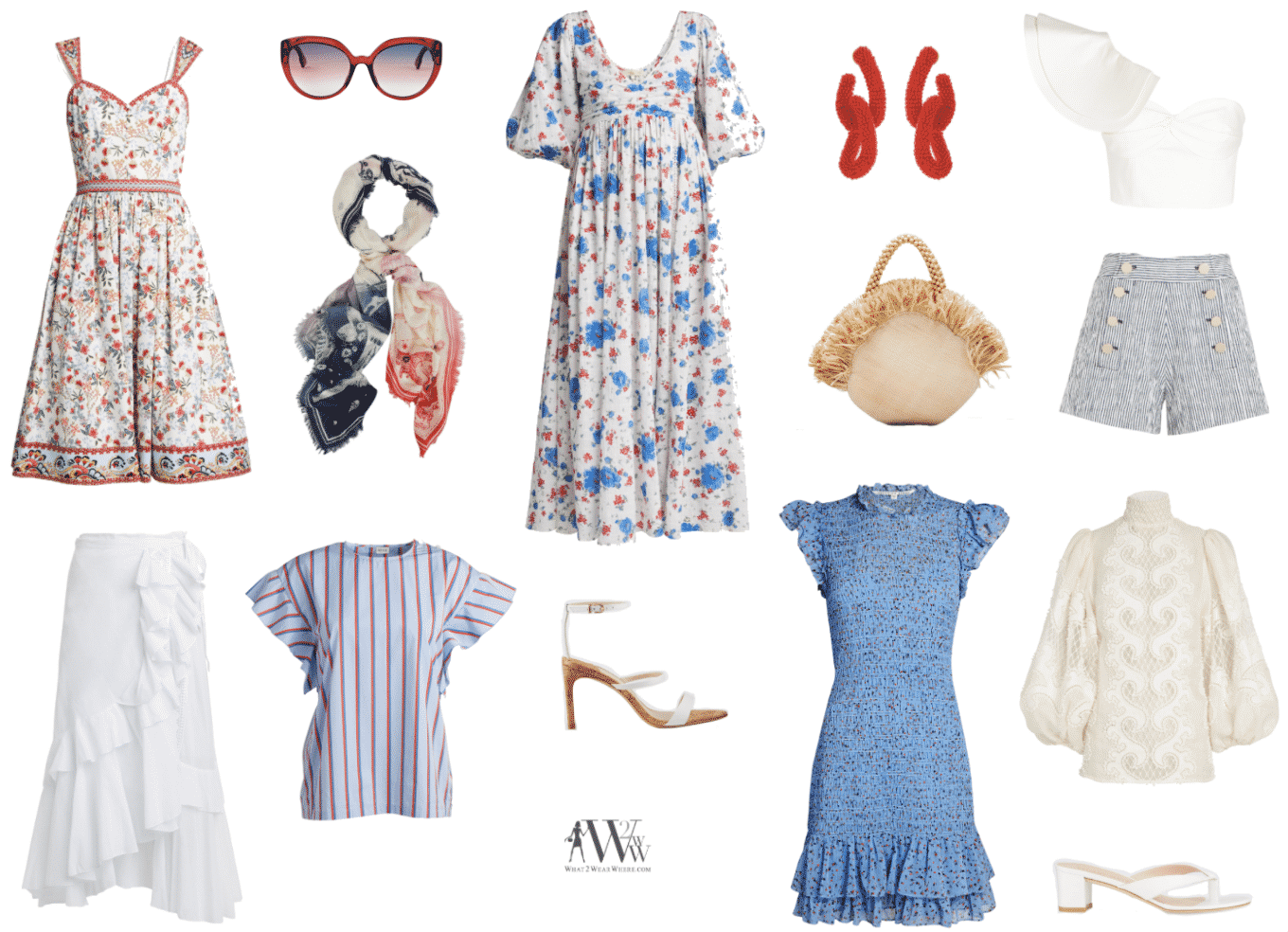 Red, White & Blue By Hilary