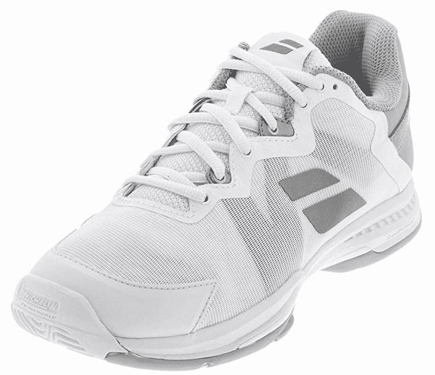 What to wear tennis?  Karen Klopp picks her top tennis shoes from Babolat.