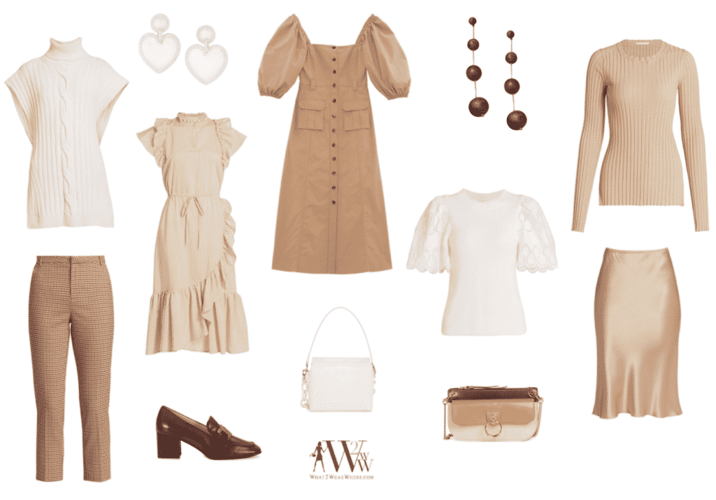 What to wear where, Hilary Dick top choices for a Fall Neutrals