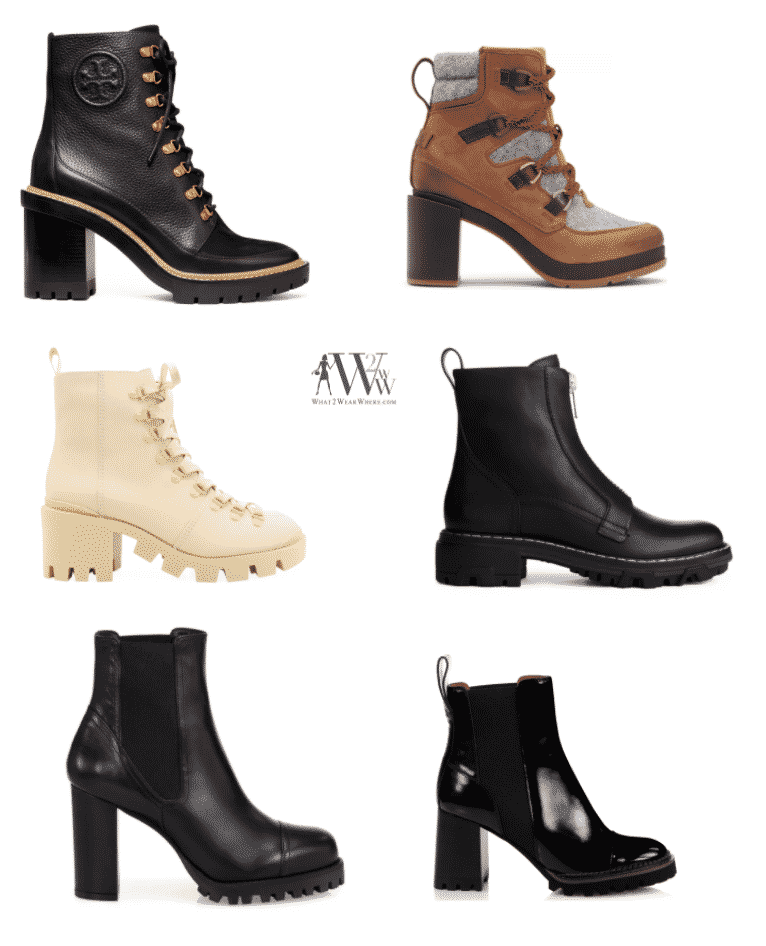 Karen Klopp, fall fashion shoe trends, 2020, what to wear now.