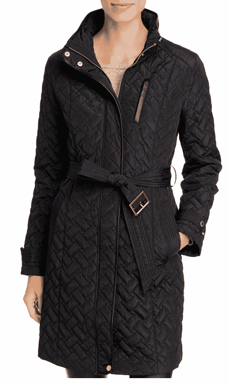 Karen Klopp ariticle on best quilted jackets and vests,  Cole Haan