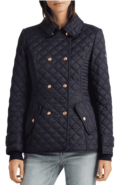 Karen Klopp ariticle on best quilted jackets and vests,  Ralph Lauren