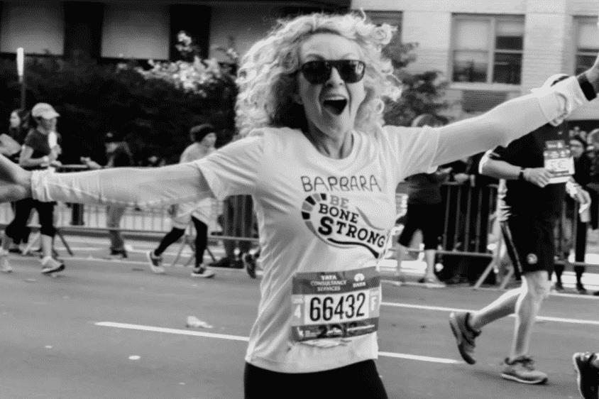 Karen Klopp Weekly Fave 5.  Barbara Grufferman go found me page , marathon for national osteoporosis foundation.
