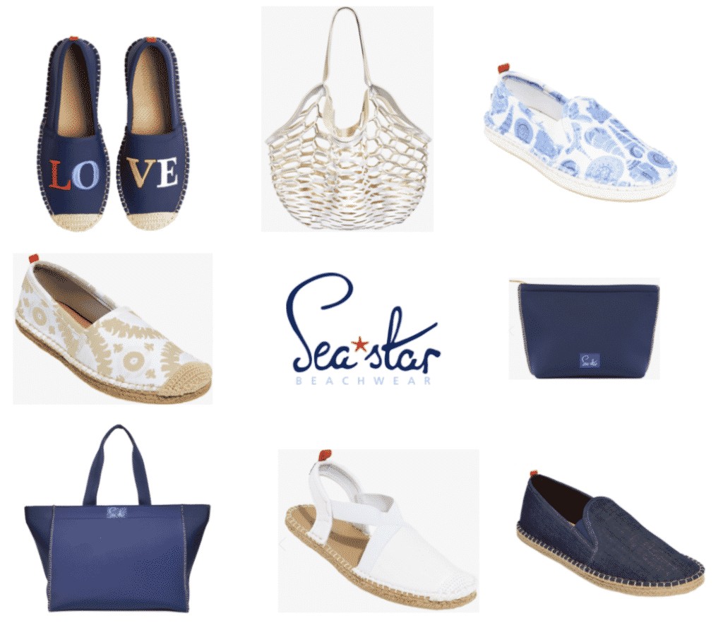 Karen Klopp shops her friends for Holiday Gifts.  Sea Star Beachwear, Libby Fitzgerald