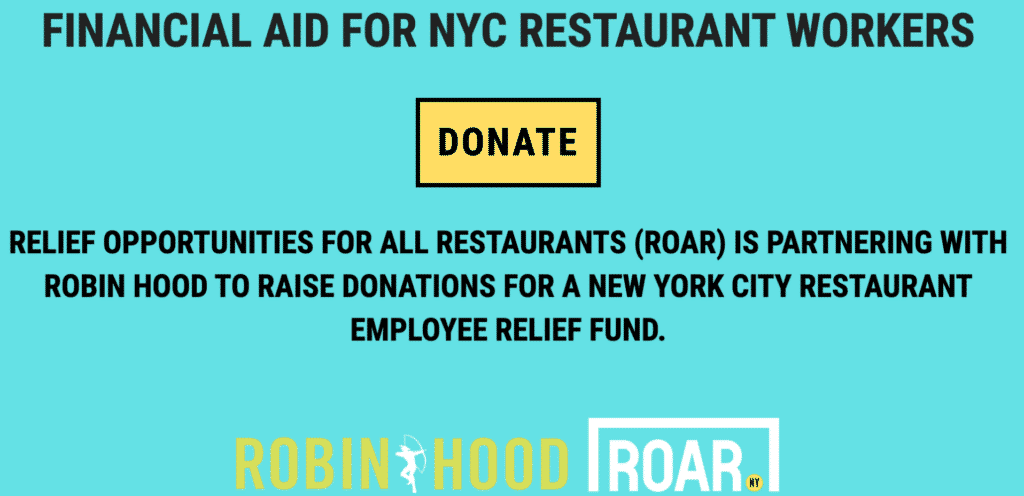 Weekly Fave 5 , What to wear where Karen Klopp, Roar New York Financial Aid for nyc restaurant workers.