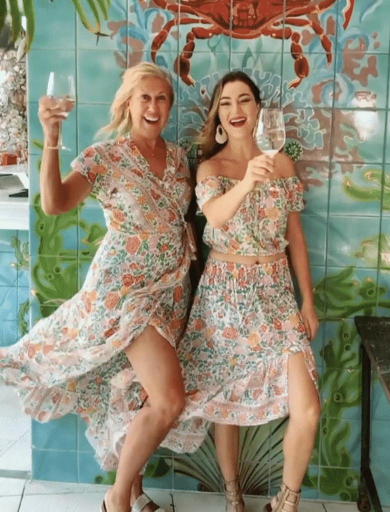 Karen Klopp shops her friends for Holiday Gifts. Walker & Wade. Laurette Kittle