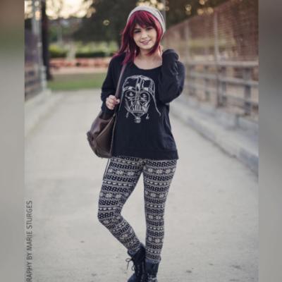 leggings fashion shoot
