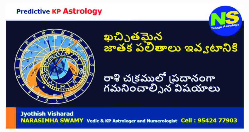 KP Astrology Video – Important Rules for giving accurate prediction
