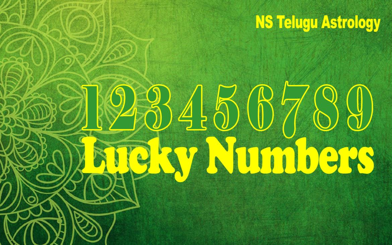 Numerology Lucky Numbers – అదృష్ట సంఖ్యాలు