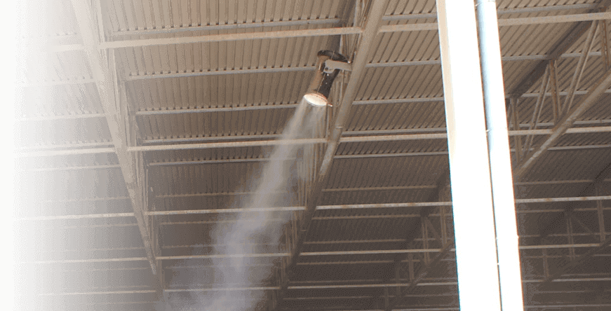 INDOOR DUST SUPPRESSION SYSTEMS
