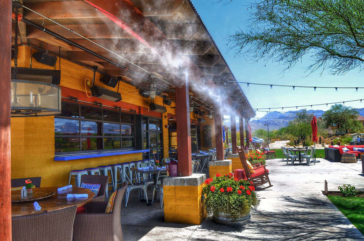 patio misters for businesses in az