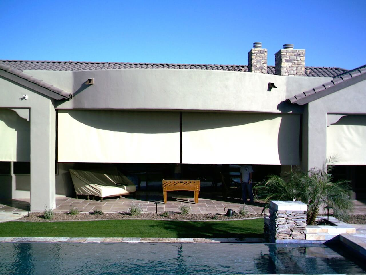 drop shades for businesses in az