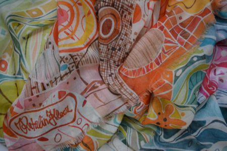 Colorful, Whimsical, Modal scarf
