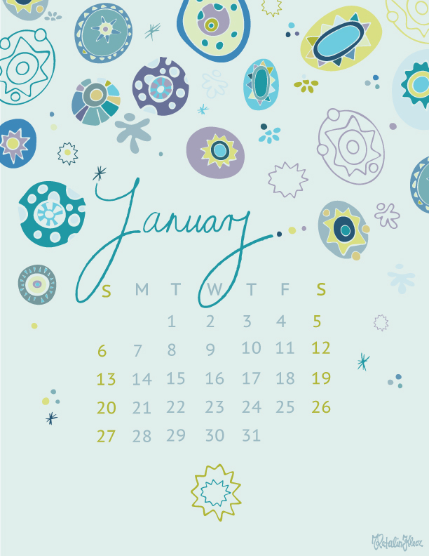 Calendar collection – January 2019