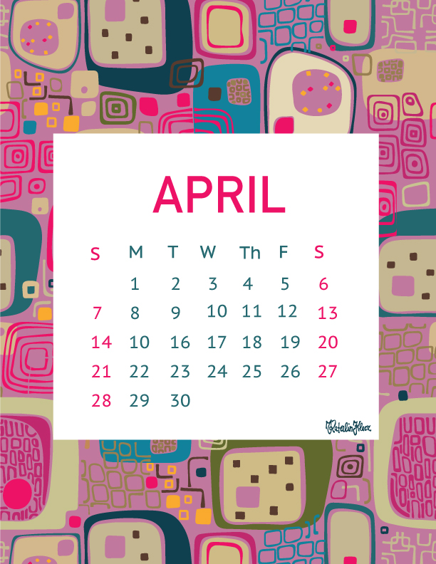 Calendar collection – April 2019