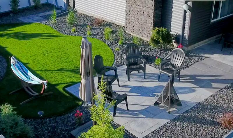 Fort Sask Landscaping Projects