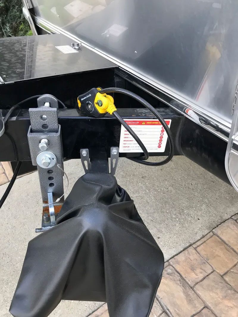HITCHPORT Storage Mount on Airstream Trailer Tongue