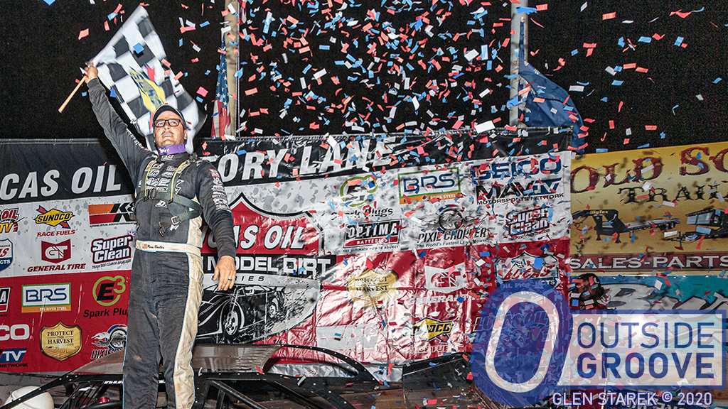 Ross Bailes Wins Big at his Home Track