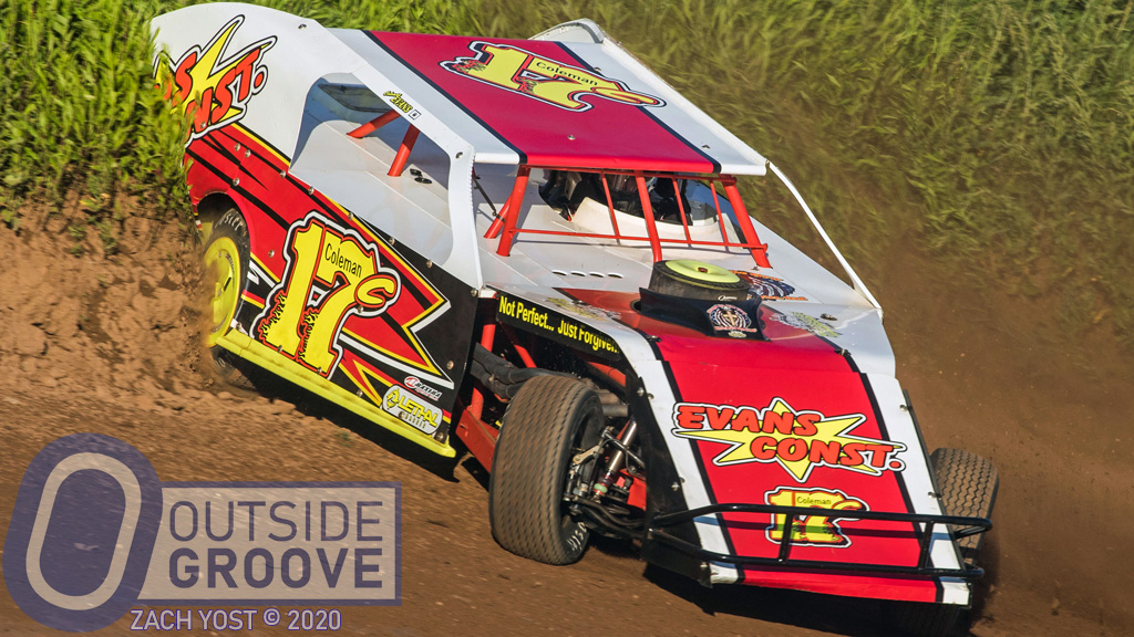 Coleman Evans Hit the Bank, Went Broke, Finished Third