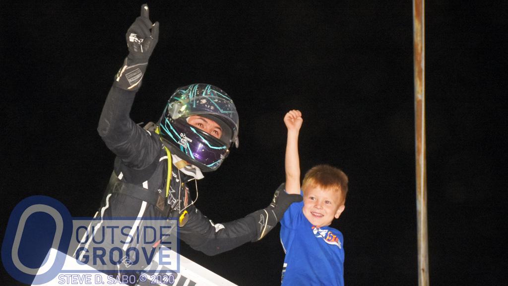 Kyle Larson Shines in Sprint Car Racing