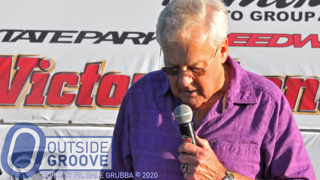 Father Dale Grubba: Racing's Priest