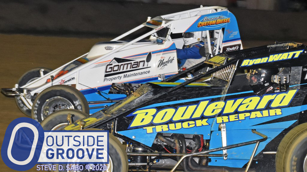A Mega Ryan Watt Smile: First Time in a Wingless Sprint